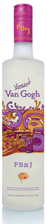 Vincent Van Gogh Vodka Pb&J
